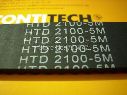 Free Shipping HTD2100-5M-15 teeth 420 width 15mm length 2100mm HTD5M 2100 5M 15 Arc teeth Industrial Rubber timing belt 5pcs/lot<br>