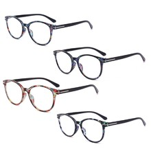 a41e020ed0 Fashion Unbreakable Reading Glasses Women Men Resin Glasses Transparent  Spectacles Vintage Round Reading-glasses W515