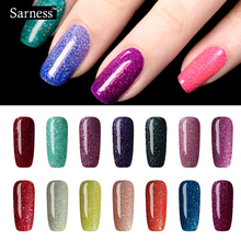 Sarness Cheap Gel Varnish Lucky 8ml Soak-off Nail Art Colorful Neon Colors Gel Polish UV LED Bing Nail Lacquer Polish
