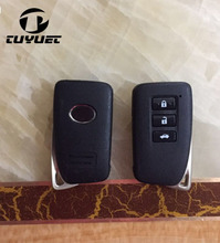 3 Buttons Blank Smart Remote Key Shell for Lexus ES300H IS ES With Emergency Key Blade Car Key Blanks