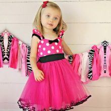 Halloween Kids Tulle Costume For Girl Baby Toddler 1 2 3 4 5 Years Birthday Outfits Infant Party Dress Children Fancy Prom Gown