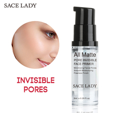 SACE LADY Face Base Primer Makeup 6ml Liquid Smooth Fine Lines Oil-control Brighten Nake Foundation Facial Cream Cosmetic(China)