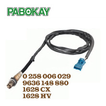 Oxygen O2 Lambda Sensor for Peugeot 206 307 607 806 1628HV 1628CX 96 229 977 NEW 0258006029 1628.CX 1628.HV 1997223 107223