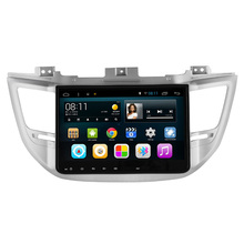 Quad Core Android Car Multimedia GPS Radio For Hyundai Tucson IX35 2014-2016 RDS WIFI OBD DVR 1080P 3D Map 16G ROM 1G RAM BT(China)