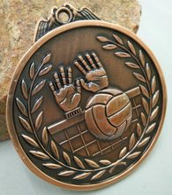 Volleyball MEDALS and brass medal for custom souvenirs kindergarten school sports game