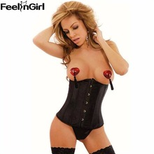 7 Colors Lingerie Cupless Corsets Women Underbust Corsets Bustier Top Plus Size S-6XL Corpete Corselet espartilho Underwear