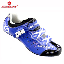 sidebike road cycling shoes men racing shoes road bike pedals trek bicycle sneakers breathable professional athletic equipment(China)
