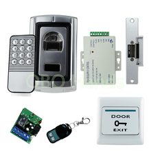 NC Fail safe lock Metal Case Waterproof Fingerprint Access Control system for access control system