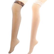 New Fashion Women Sexy Stocking Lace Transparent Tube Mesh Stockings Tempt Hosiery Sex Toys Accessories Erotic Sexy Lingerie LB(China)