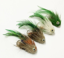 4Pcs Giant salamander float Bait Bumblebee Fly Fishing Flies Trout Bass Bumble Flies Lure Bait bee fishing Tackle