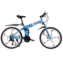 Altruism X9 24 speed Aluminum mountain bike for Folding bicycles unisex children 24 inch mountain bikes bicycle(China)