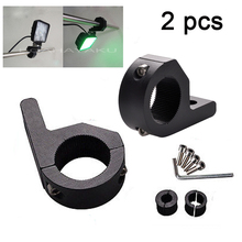 LED Fog Driving Light Spotlight Universal Mounting Bracket 4x4 Offroad ATV Car Roll Cage Tube Bull Bar Clamp Bracket 32mm/52mm(China)