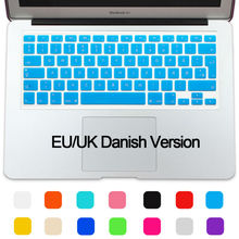 New Silicone Waterproof UK/EU layout Denmark Keyboard Protector Cover For Apple MacBook Air 13 Pro 13 15 Retina IMac 21.5 27 ""