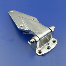 free shipping 6 inch Cold storage hinge oven hinge industrial part Refrigerated truck car door hinge Cast iron hardware(China)