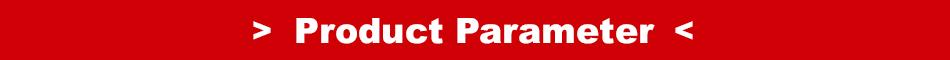 Product Parameter