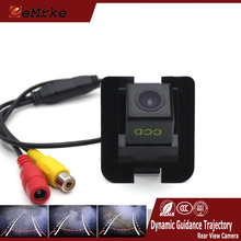 EEMRKE CCD Car Reverse Cameras For Mercedes Benz W212 W221 Pre-hole Tracks Camera With Dynamic Guidance Trajectory(China)