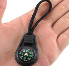 Mini Hanging Ring Compass For Camping Cheap Portable Hiking Tools Compass(China)