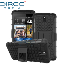 DIRECTopia Dual Layer Hybrid Defender Kickstand Armor Protective Cover Phone Case for HTC Desire 610 Case with Kickstand