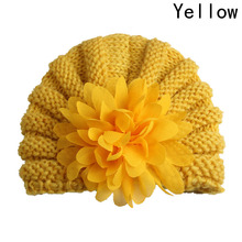 Newborn Baby Girl Toddlers Infant Pointed Flower Hollow Out Hat Headwear Hat India Cap Kid Hat Hat Babies Children(China)