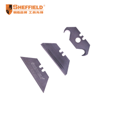 SHEFFIELD S067302 Utility knife blade Heavy Duty Cutter Blade Accessories 18mm (10pcs per pack) Hook type blade