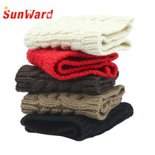 SunWard Drop Shipping very low prices New Fashion Womens Winter Warm Hat Skiing Cap Knitted Headband JUN12