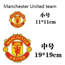 Champions League team Manchester United team logo car stickers personalized decoration car stickers two sizes 11 * 11cm 19 * 19