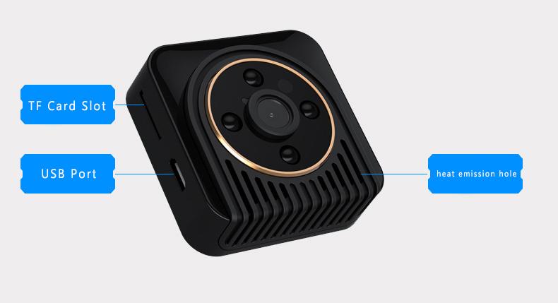 H5 mini camera wifi camera spied camera 2