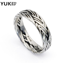 Free shipping, male 925 silver jewelry silver ring knitted thai silver men pinky ring finger ring personalized accessories,gift