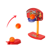 Children Finger Basketball Hand - Eye Brain Coordination Mini Game Funny Table Game Toys Shooting Catapult Toy Anti Stress Boys(China)