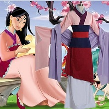 halloween costumes for women princess plus size sexy adult princess hua mulan costumes costume women(China)