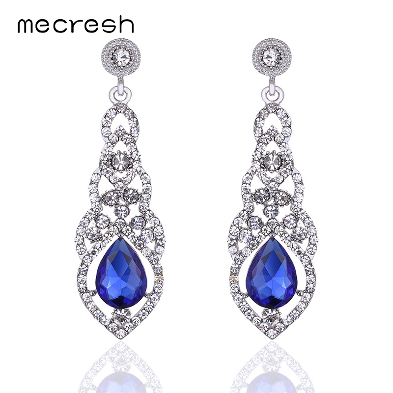 Drop crystals wedding