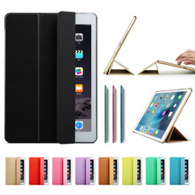 Ultra Slim Smart Case Cover for Apple iPad Pro 12.9 9.7 inch PU Leather Tablet Folding Folio Cases Auto Wake / Sleep