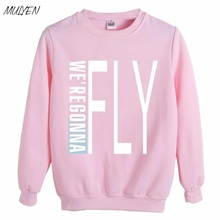 MULYEN Kpop Got7 Hoodies Women Member Name Printed GOT7 FLY IN SEOUL Harajuku Sweatshirt Pullover Hoodies Sudaderas Mujer
