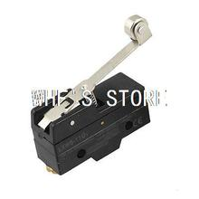 Black Long Hinge Roller 3 Screw Terminal Lever AC DC Limit Switch LXW5-11G1