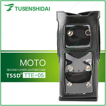 Good Quality Two Way Radio Leather Carrying Bag for MOTO/TETRA MTP-3100/MTP-3150/MTP-3250(China)