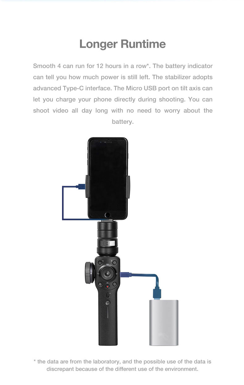 Presell ZHIYUN smooth 4 smartphone Handheld 3 Axis Gimbal Portable Stabilizer for iPhone x Camera Gimbal VS zhi yun Smooth 4