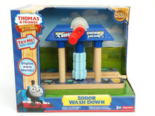 Train Toys Thomas Railway Track TTC71 WASH Thomas And Friends Truck Tomas Car Brio Toys for Boys Engine Models Building Toy(China)