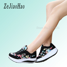 2017 fashion sport shoes brand casual shoes platform women shoes breathable black sneakers ladies footwear chaussure femme dr16(China)
