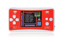 "Free Shipping! 8-Bit Retro 2.5"" LCD 160x Video Games Portable Handheld Console (RED) - NEW!"