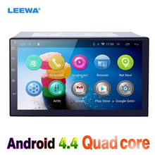 "7"" 7inch Android 4.4.2 Quad Core Car Media Player With GPS Navi Radio For Nissan/Hyundai Universal 2DIN ISO #CA3900"