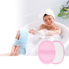 Natural Effective Exfoliator Scrubber Bath Brushs Massager Shower Loofah Luffa Back Spa Scrubber Sponges