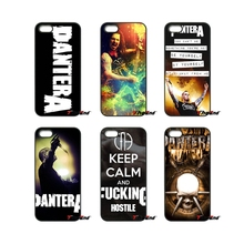Band Pantera Vintage Poster For iPod Touch iPhone 4 4S 5 5S 5C SE 6 6S 7 Plus Samung Galaxy A3 A5 J3 J5 J7 2016 2017 Case Cover