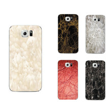 Luxury Marble pattern For Samsung galaxy S6 edge plus S7 edge Phone Case  soft slim silicone Tpu Phone Cover with dust plug
