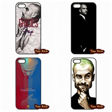 For Apple iPod Touch 4 5 6 iPhone 4 4S 5 5C SE 6 6S Plus 4.7 5.5 Pep Guardiola Football Coach Cover Case