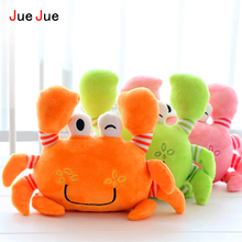 New Crab Plush Toys Crab Soft Stuffed Animals Kids Doll Toys Baby Kawaii Carton Stuffed Crab Toys for Children Birthday Gift Toy