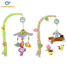 LeadingStar Musical Stroller Crib Toy Mobile Bed Bell Lovely Animals Rotating Hanging Bells for Boys and Girls zk30