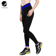YWBIN Brand professional Stretched trousers Women Sports Pants Gym High Elastic yoga Tights Sports Leggings Fitness Yoga Pants