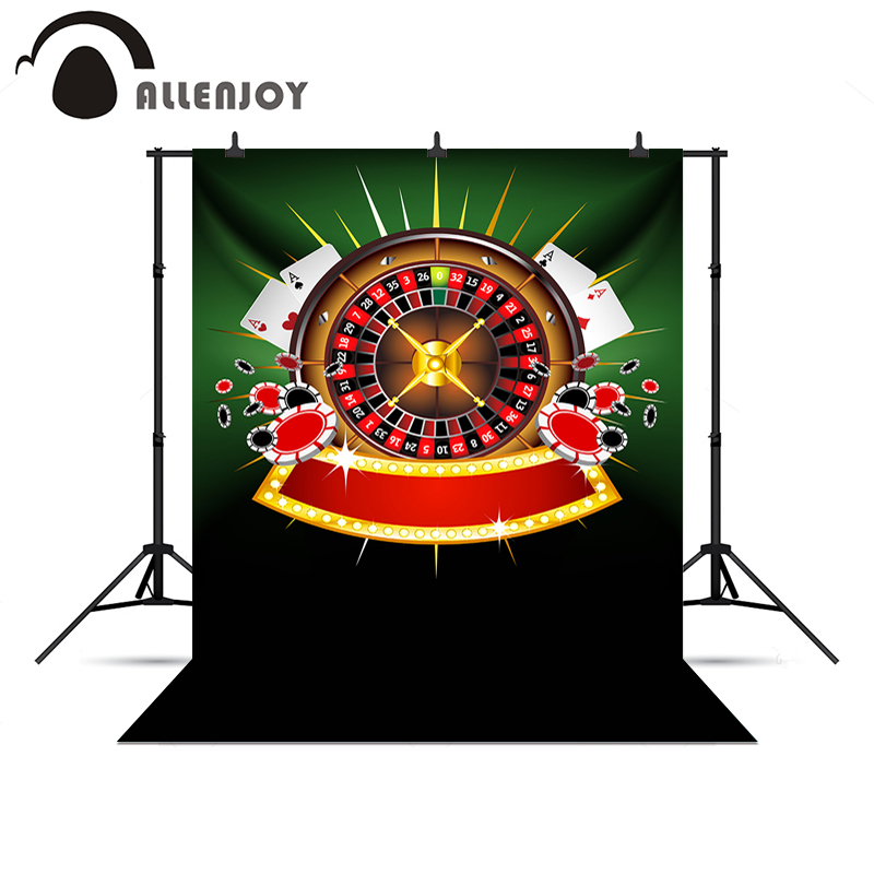 Allenjoy photography backdrops Casino poker roulette gambling house glitter photo backdrop backgrounds for photography<br><br>Aliexpress