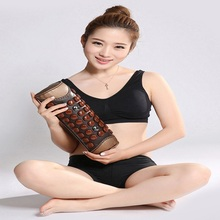 Jade Germanium Stone Body  Neck Massage Pillow Improve Blood Circulation Health Care