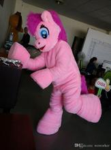 ohlees mylittlepony PinkiePie pony horse Mascot Costumes Halloween Christmas Birthday Party Dress Costume Real Pictures